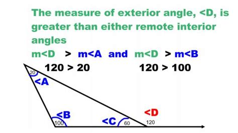 How To Work Out The Interior Angle by Remote And Exterior Angles Of A Triangle