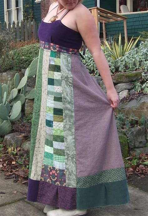 Patchwork Hippie Dress - harmonious threads handmade patchwork dress