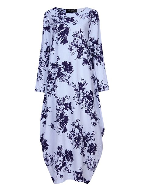 19346 Print Liise Dress casual floral print dress at banggood