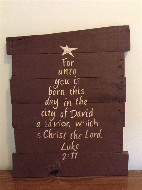 bible verse christmas tree luke 2 11 on etsy 35 00 all
