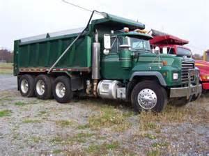 tri axle dump truck for sale 2001 mack rd690 tri axle dump truck for sale in