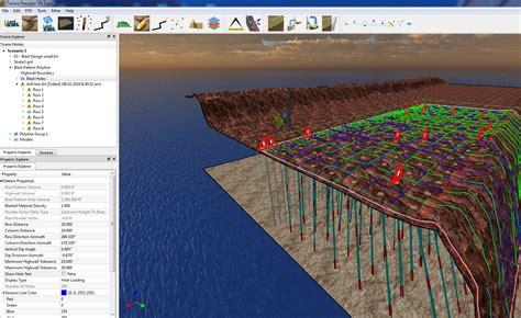 blast pattern design software carlson software precision 3d drill and blast