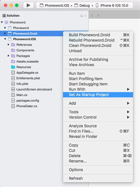 xamarin forms learning basics and starting project xamarin forms quickstart xamarin