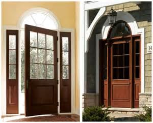 Colonial Style Front Doors Entrance Doors Replacement Massachusetts Entry Wood Door Installation Contractor