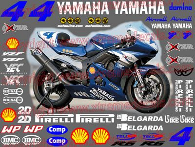 Yamaha R6 Cup Aufkleber by Graphics And Stickers Decals For Yamaha Yamaha Sponsor Kits