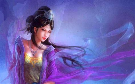 desktop wallpaper virtual girl japanese fantasy girl hd desktop wallpaper wallpapers13 com