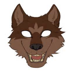 wolf mask template wolf masks template www imgkid the image kid has it
