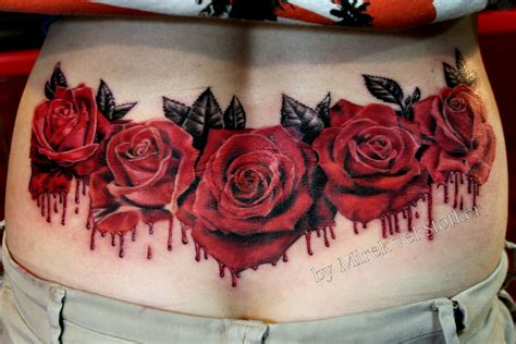 red roses tattoo tattoos of roses collection