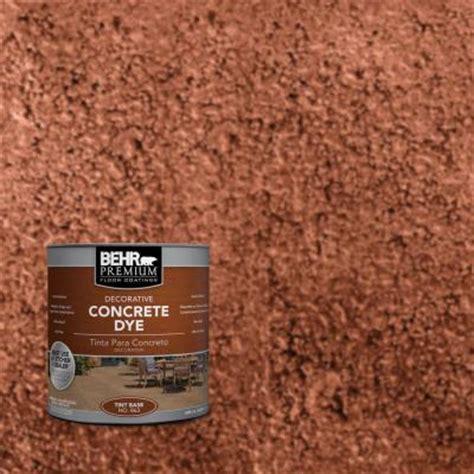 home depot concrete paint qt cd 803 cajun concrete dye