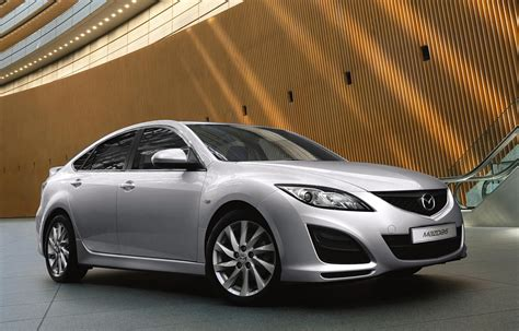 mazda car line mazda6 business line launched available from gbp18 300