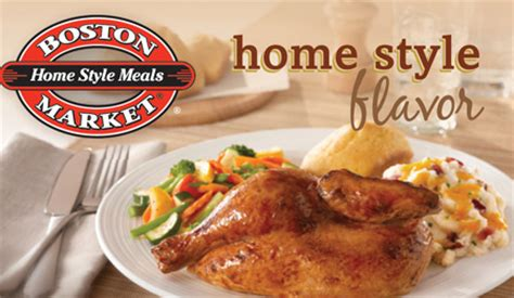 Boston Market Gift Card Promotion - bogo free bbq ribs meal at boston market