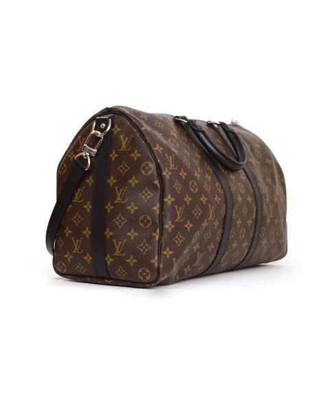 Lv Bandouliere Ada No Seri louis vuitton monogram keepall bandouliere 45 luggage shw for sale at 1stdibs