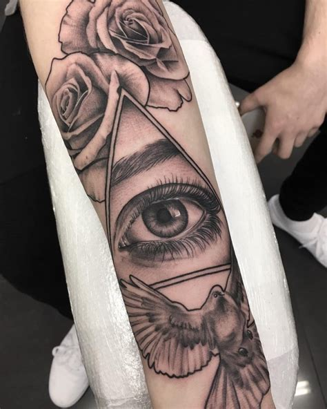 all seeing eye tattoo designs 60 greatest all seeing eye ideas a mystery on skin