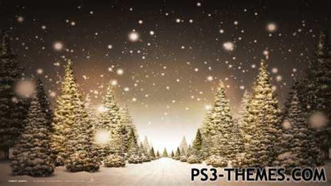 christmas themes ps3 ps3 themes 187 winter wonderland