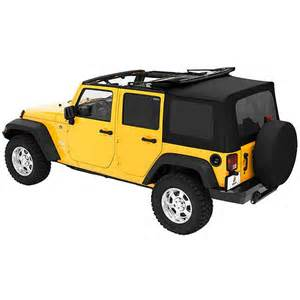 2007 Jeep Wrangler Soft Top Parts Wrangler Tops And Soft Tops 4x4 Truck Gear