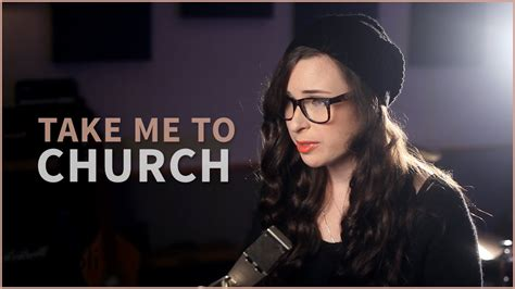 hozier itunes hozier take me to church cover by caitlin hart on