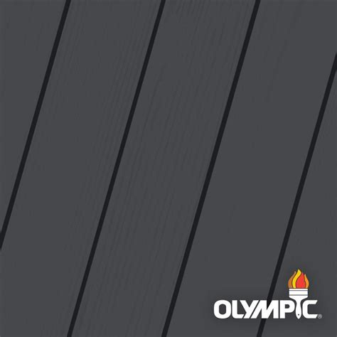 olympic maximum  gal mystic black solid color exterior