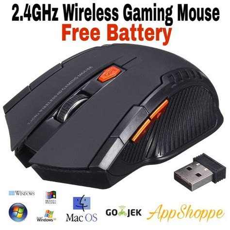 Mouse Wireless Gaming Mouse Mirip Fantech Mousepad And Battery Grey jual mouse wireless gaming mouse 6d mirip fantech usb 2 4ghz black di lapak appshoppe appshoppe