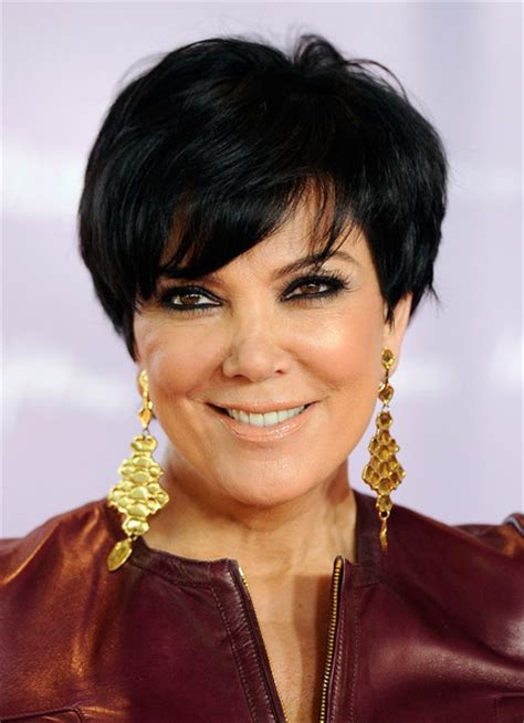 hair cut short like kris kardashian jenner and the technical kris jenners haircut pictures front and back view short