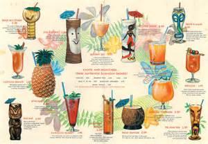 Tiki Bar Menu Tiki Birthday Bash With Printable Swag