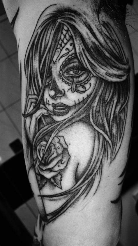 mandala tattoo keighley 17 best ideas about day of dead tattoo on pinterest