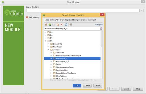 android studio import library library project module as dependency in android studio tutorial