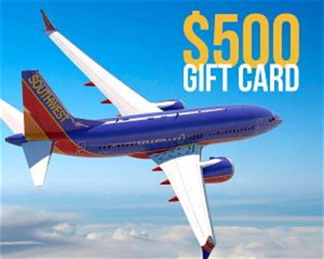Alaska Airlines Gift Cards - contest win a 500 southwest airlines gift card