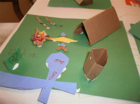 tent craft for nature craft for archives mycreativedays