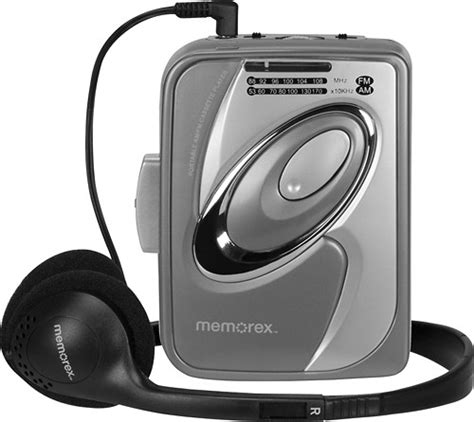memorex cassette memorex cassette player with am fm radio gray md2280