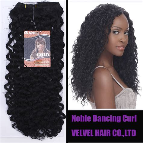 gfabke hair pieces in bsrrel curl 1pc free shipping noble gold synthetic hair dancing curl