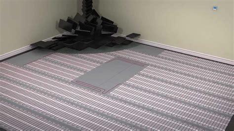 heated bathroom floor mat heated floor mat good installed warmwire heating elements