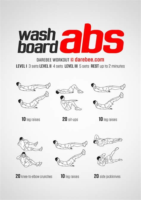 washboard abs