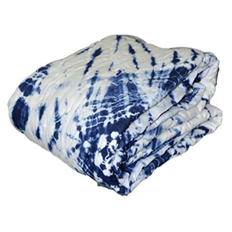 kraftdirect boho throw indigo throw shibori throw tie