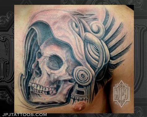 aztec skull tattoo aztec tattoostattoo symbols news magazine