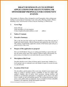 6 event sponsorship proposal template doc proposal