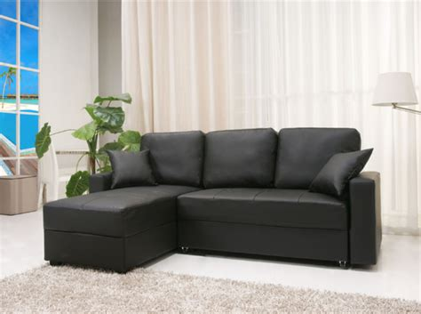 Sleeper Sofa Sectional Sectional With Sleeper Sofa Black Best Small Sleeper Sofa