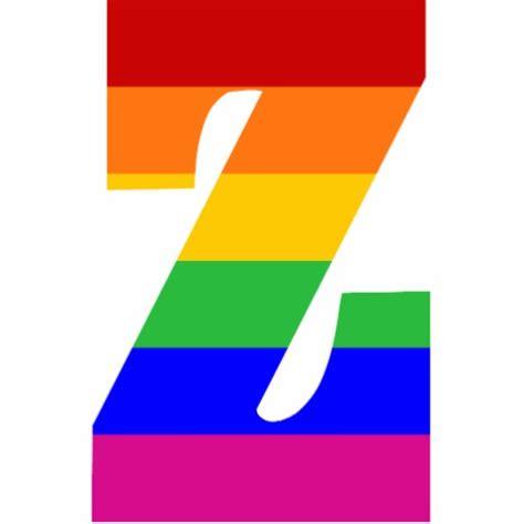 Letter Zee Rainbow Letter Z Photo Cut Outs Zazzle
