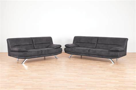 2er sofa bruno matex grau