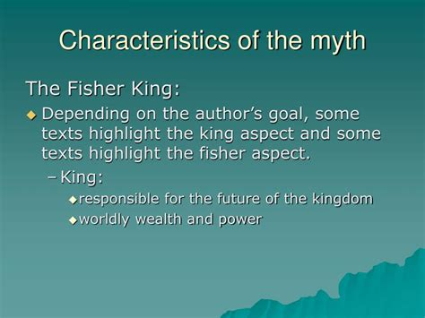 trolling with the fisher king reimagining the wound books ppt the myth of the fisher king powerpoint presentation
