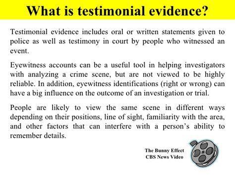 eye witness report sle eye witness basics