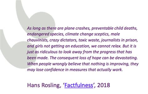 factfulness hans rosling quotes constructive journalism libraries taskforce