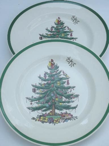 spode christmas tree china set of 8 spode england china