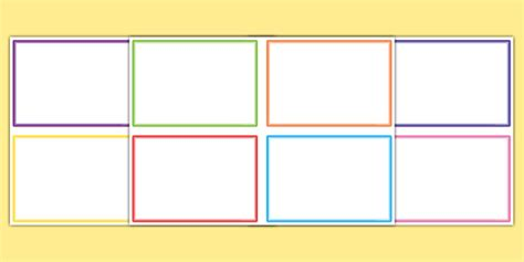 free tear card template editable challenge cards challenge cards blank challenge