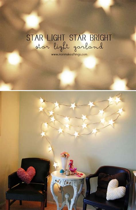 diy decorations with lights 46 best diy room decor ideas diy projects for