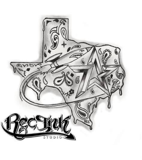h town tattoos longhorn tattoos designs