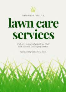 landscape flyer templates green garden services landscaping flyer templates by canva