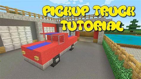 minecraft pickup minecraft pickup truck tutorial minecraft project