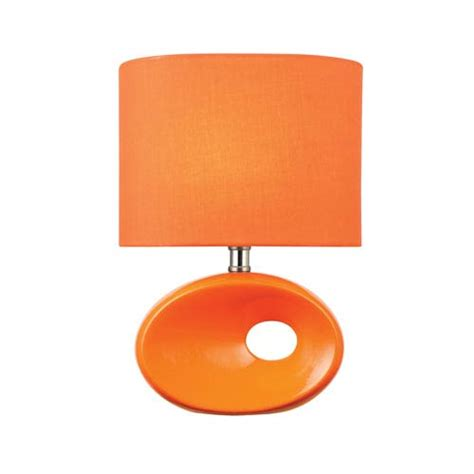 mini style table ls hennessy ii orange one light table l lite source accent