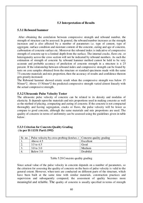 ndt test (non destructive testing) for civil engg