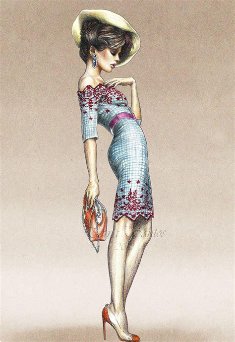 fashionillustrators deviantart fashion illustration vogue by tania s on deviantart